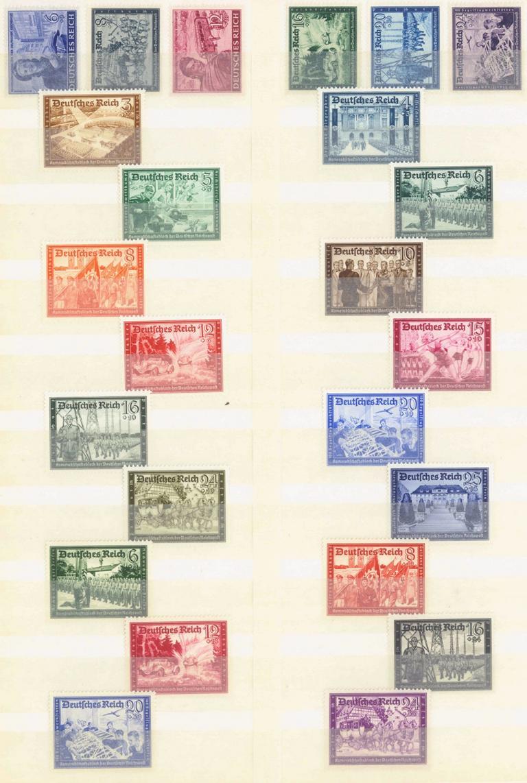 III. Reich 1939/1941/1944, Kameradschaftsblock der Post