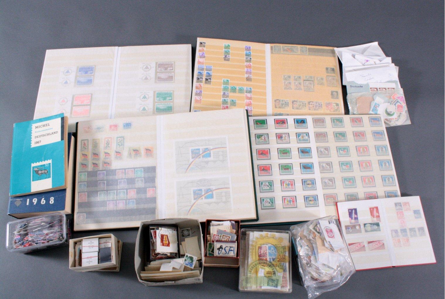 Aus NACHLASS die Briefmarken