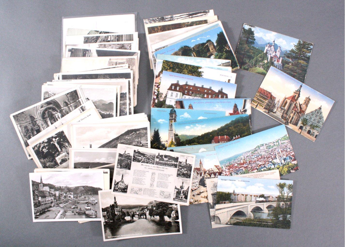 ANSICHTSKARTEN DEUTSCHLAND TOPOGRAPHIE