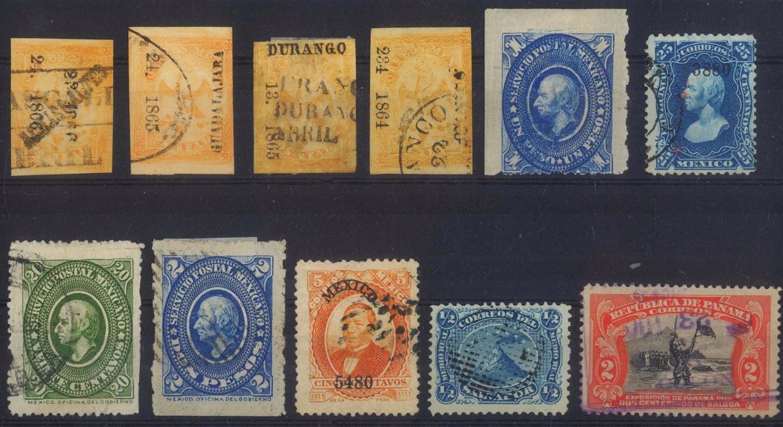 MEXICO, klassische Marken ab 1864