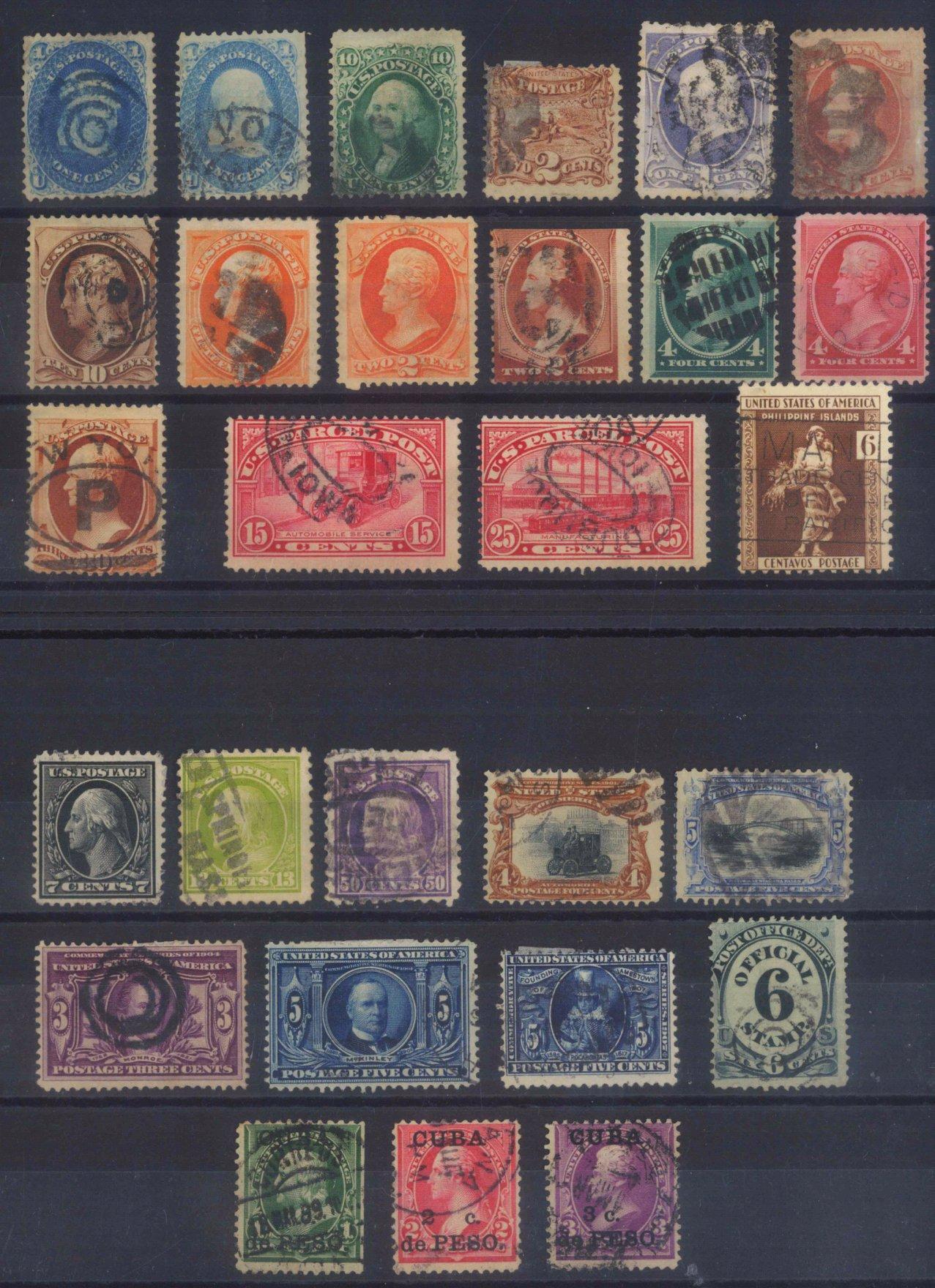 USA, klassische Marken ab 1861