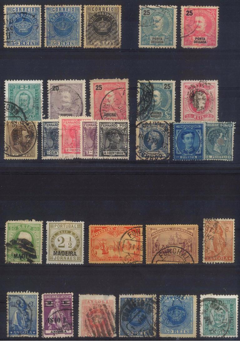PORTUGISISCHE KOLONIEN, klassische Marken ab 1881