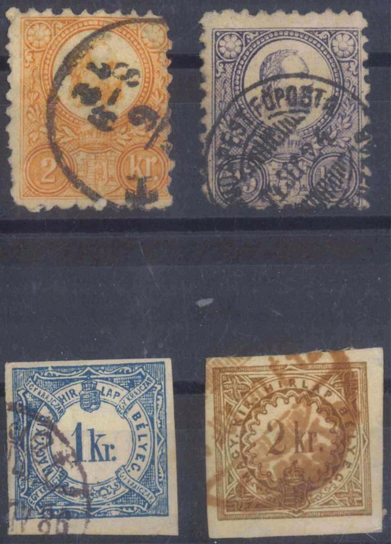 UNGARN, klassische Marken ab 1854