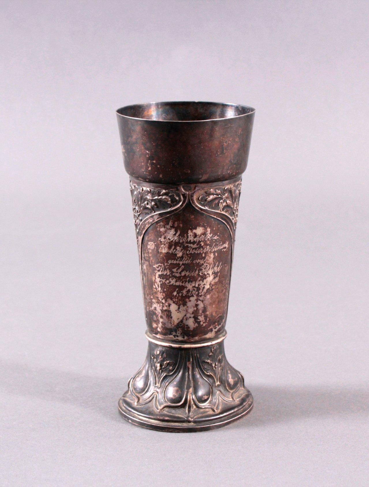 Silberpokal um 1900