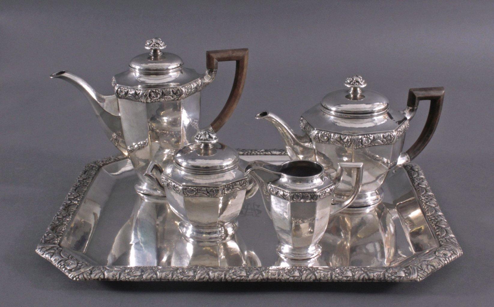 Kaffee- und Teekern, 5 teilig, Brückmann und Söhne