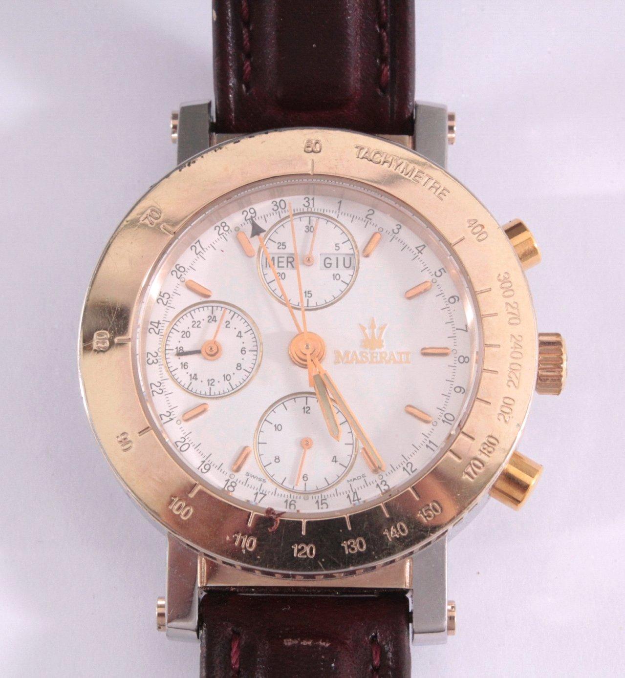 Armbanduhr Maserati Official Timepiece, Modell Karif