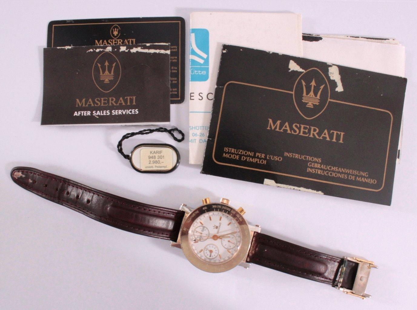Armbanduhr Maserati Official Timepiece, Modell Karif-5