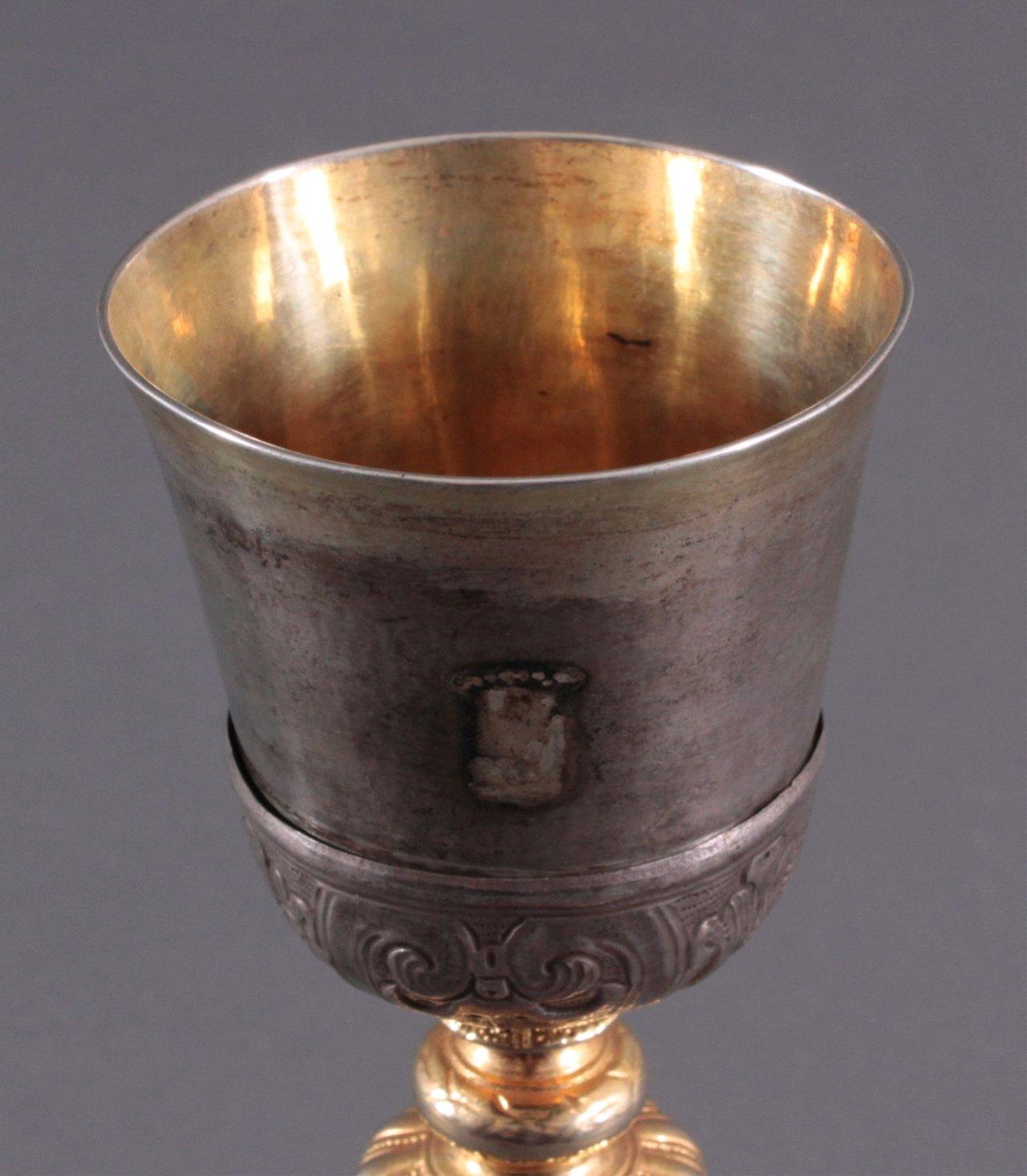 Silberpokal, Messkelch 1. Hälfte 19. Jh.-2