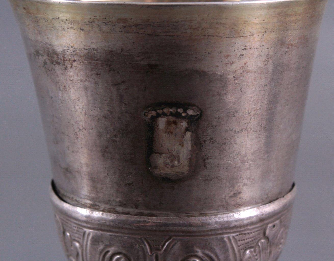 Silberpokal, Messkelch 1. Hälfte 19. Jh.-3