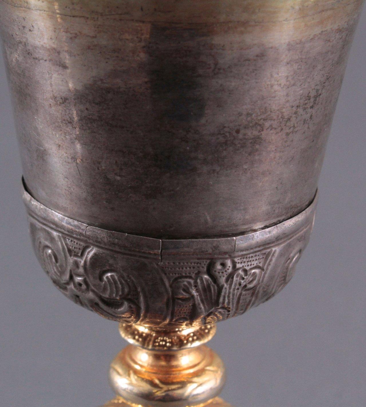 Silberpokal, Messkelch 1. Hälfte 19. Jh.-6