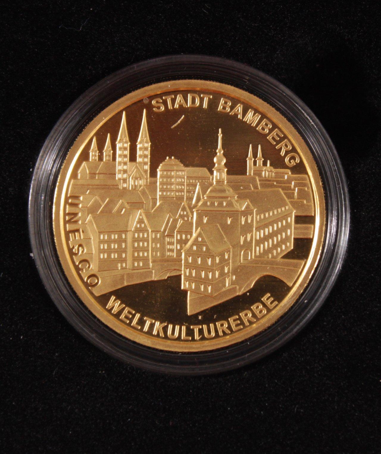 BRD 2004 F, 100 Euro – Goldmünze