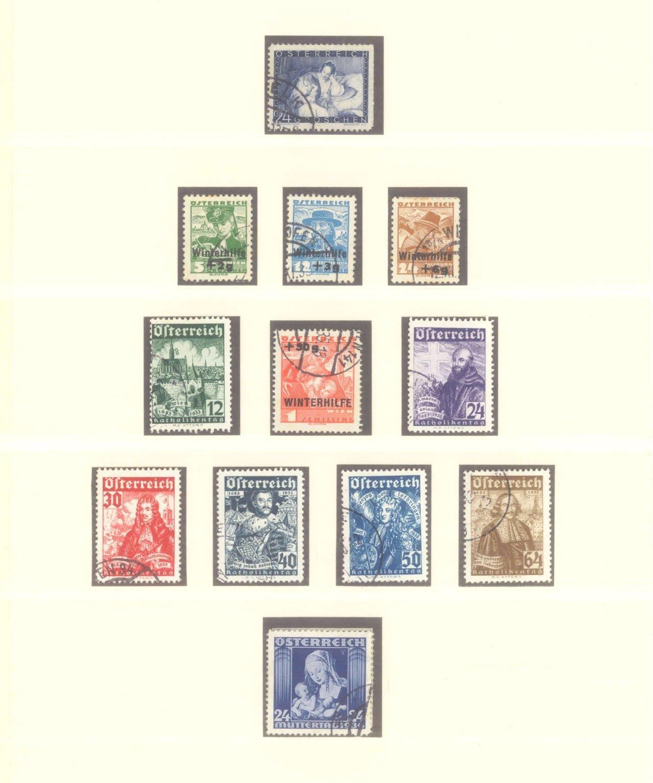 ÖSTERREICH 1925-1937-5