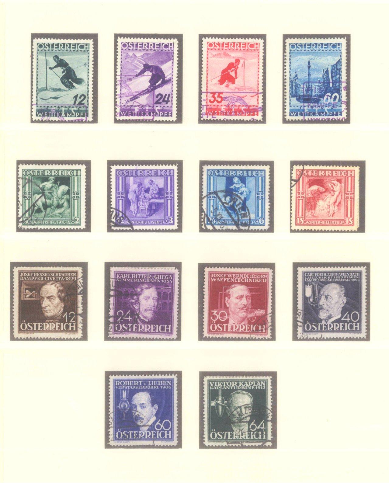 ÖSTERREICH 1925-1937-6