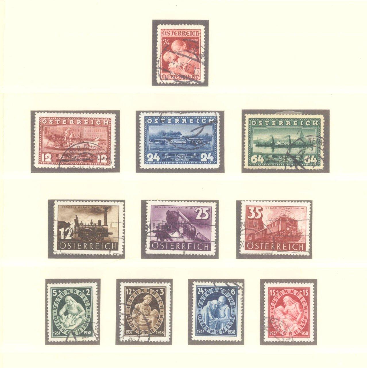 ÖSTERREICH 1925-1937-7