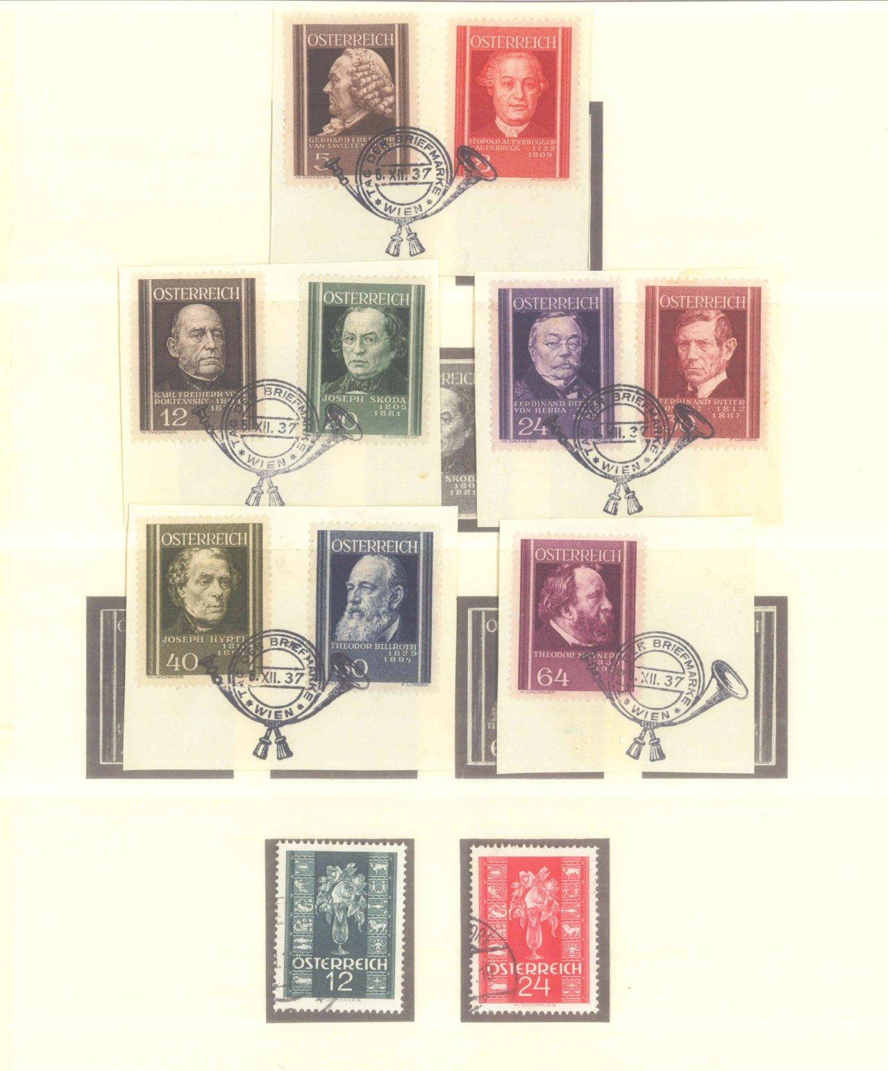 ÖSTERREICH 1925-1937-8