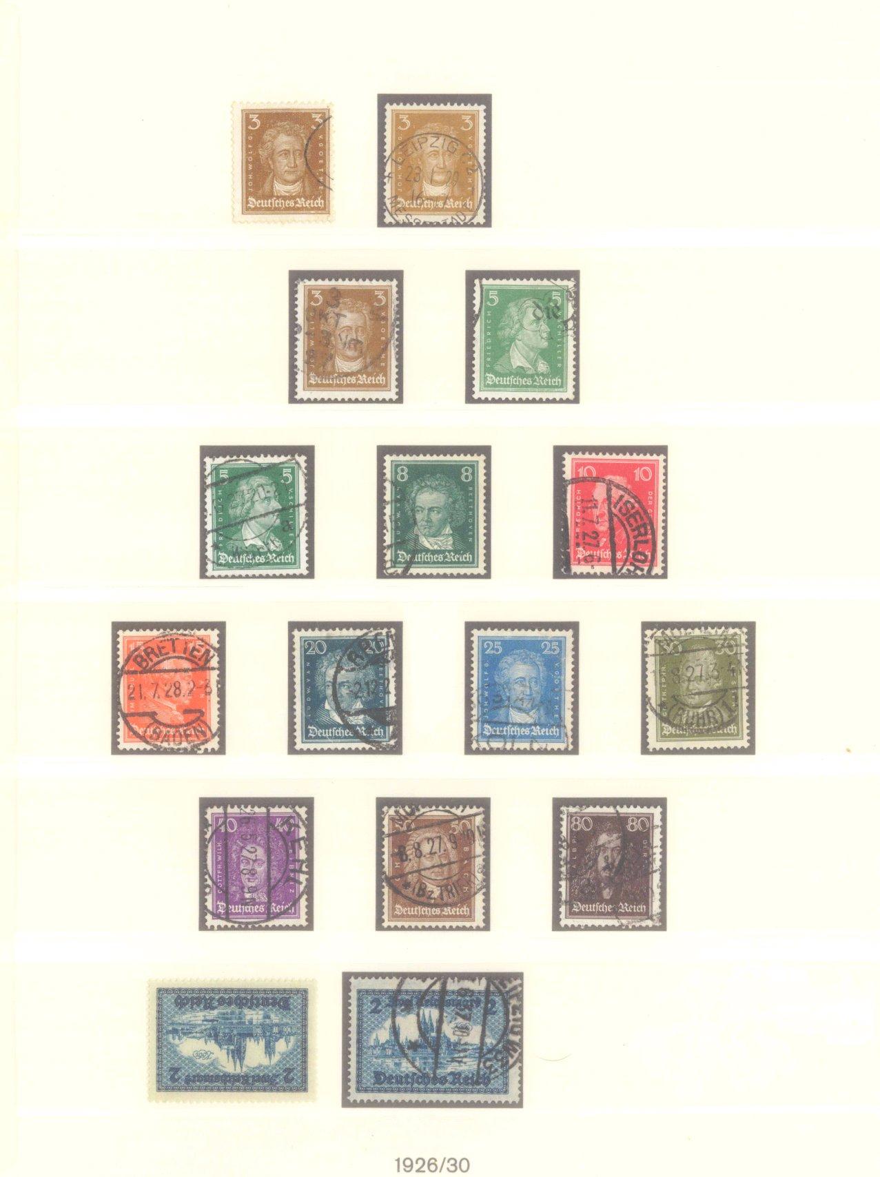 DEUTSCHES REICH – WEIMARER REPUBLIK 1923-1933-6