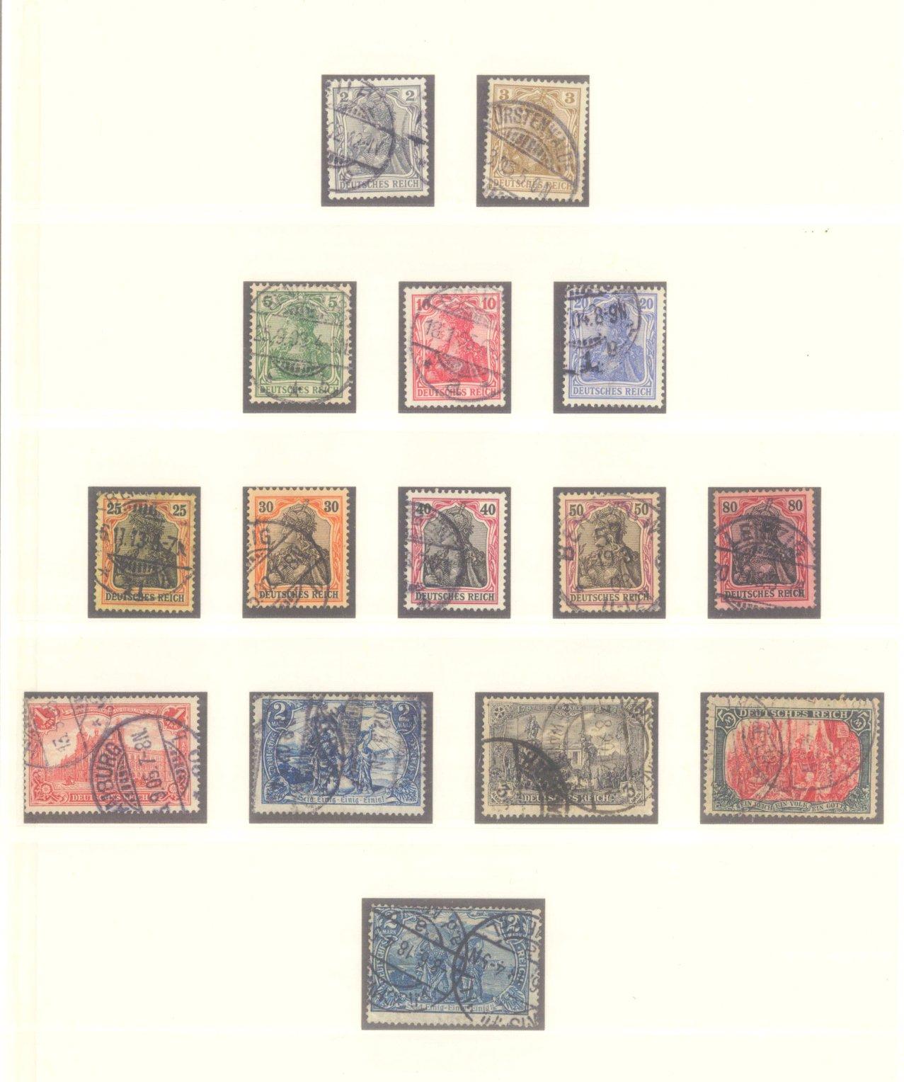 DEUTSCHES REICH – Kaiserreich 1875-1920-2