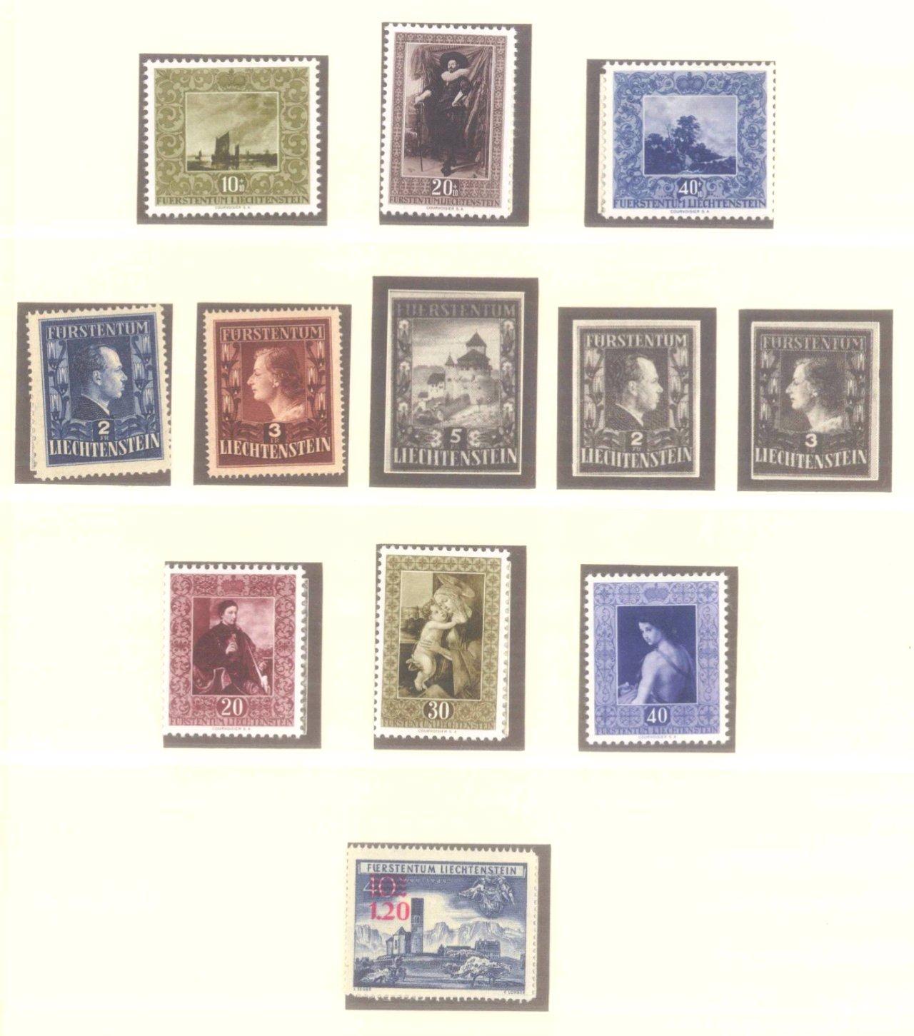 Sammlung Liechtenstein 1949-1989