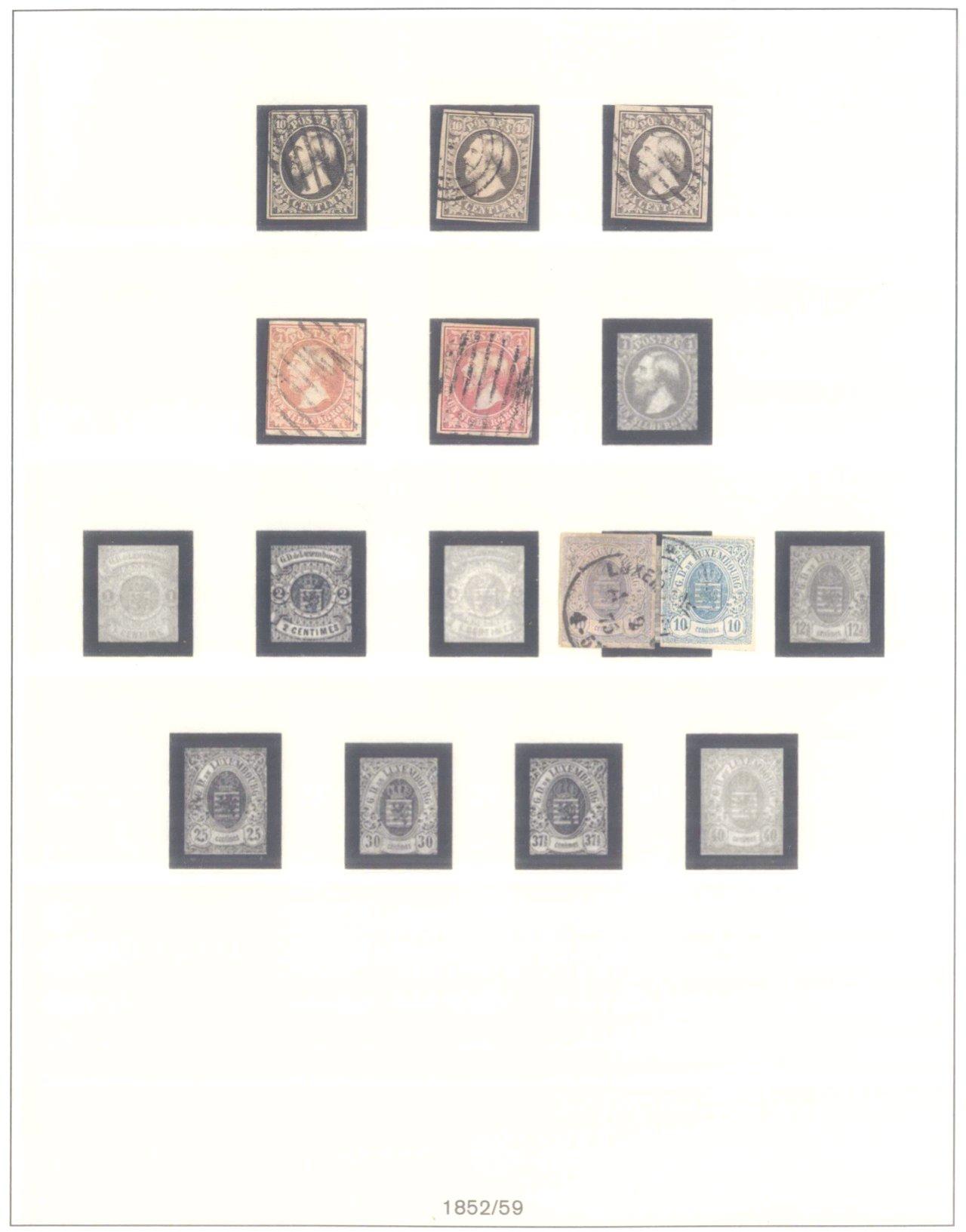 Sammlung Luxemburg 1852 bis 2005