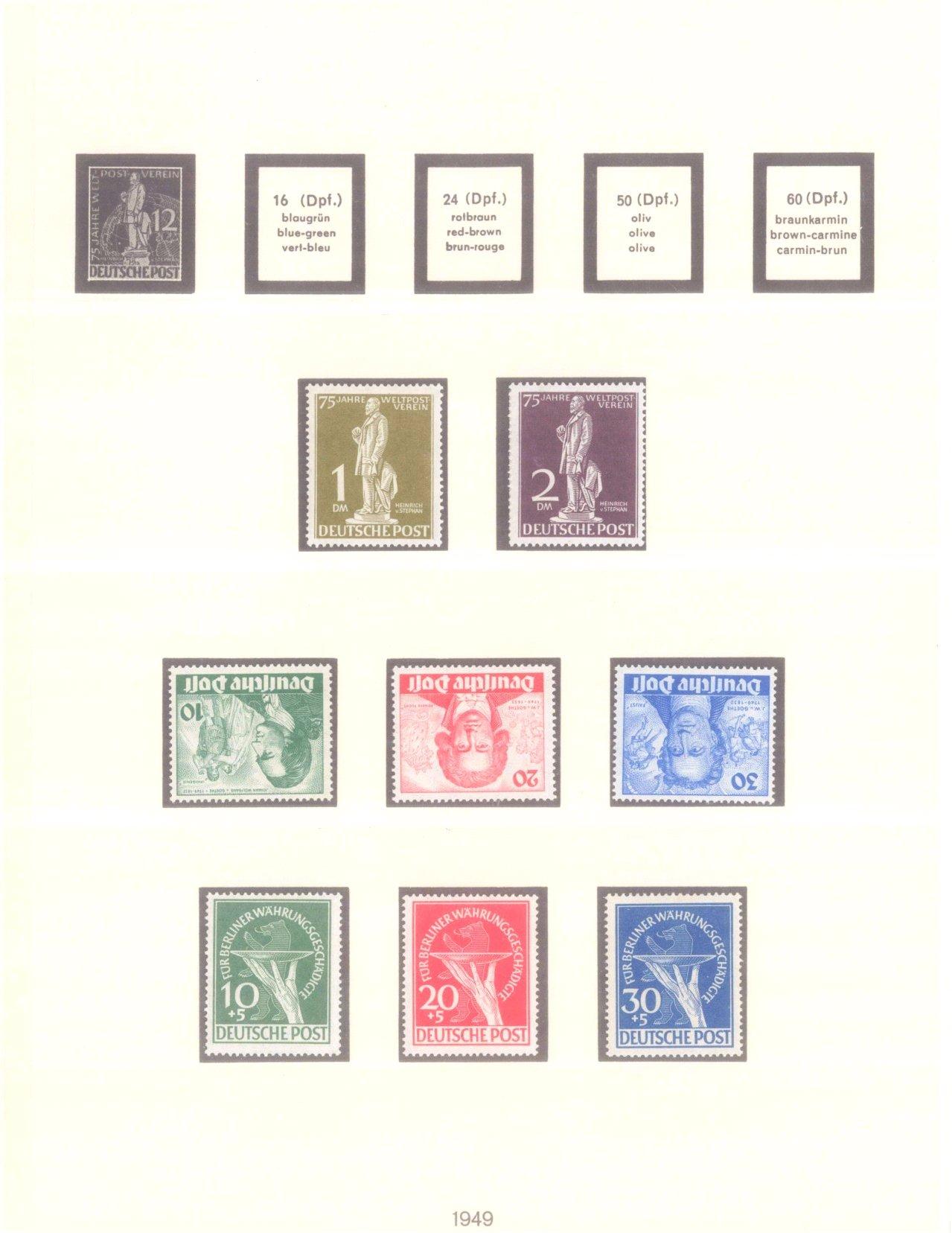 Sammlung Berlin 1948-1985 + ETB
