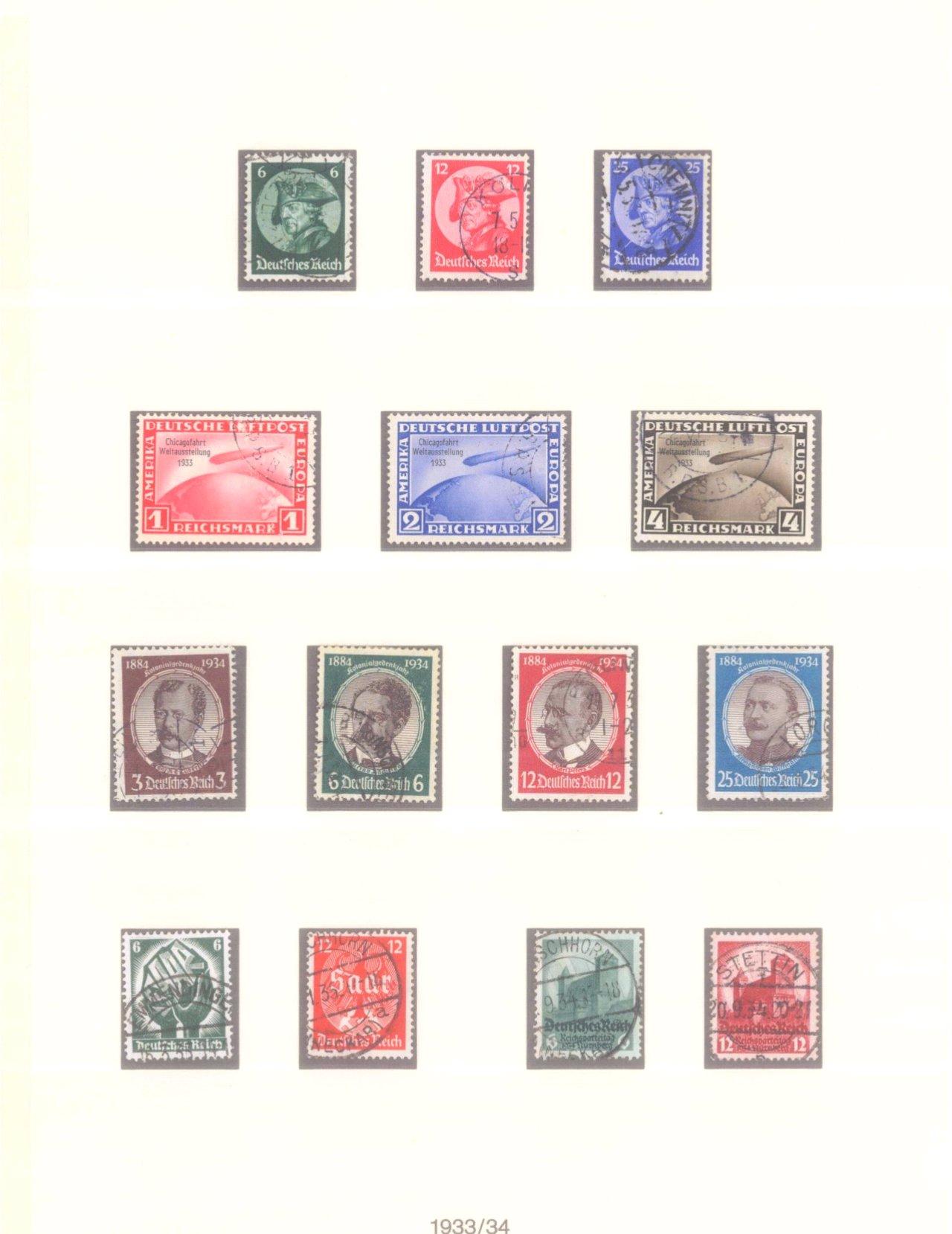 Sammlung Deutsches Reich 1933-1945