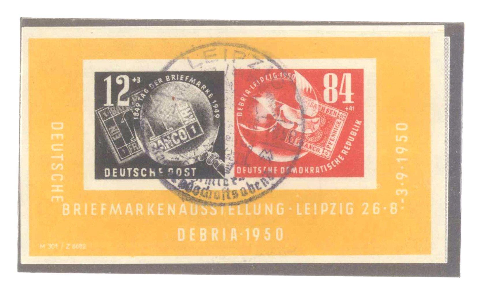 Sammlung DDR 1949-1990, postfrisch und gestempelt-2