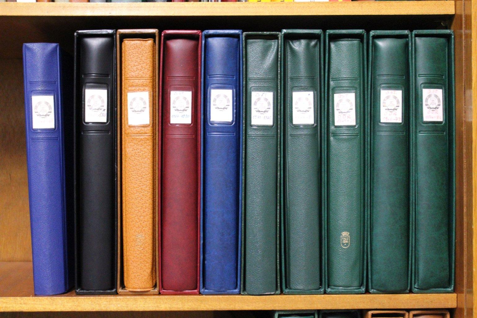 Sammlung DDR 1949-1990, postfrisch und gestempelt-5