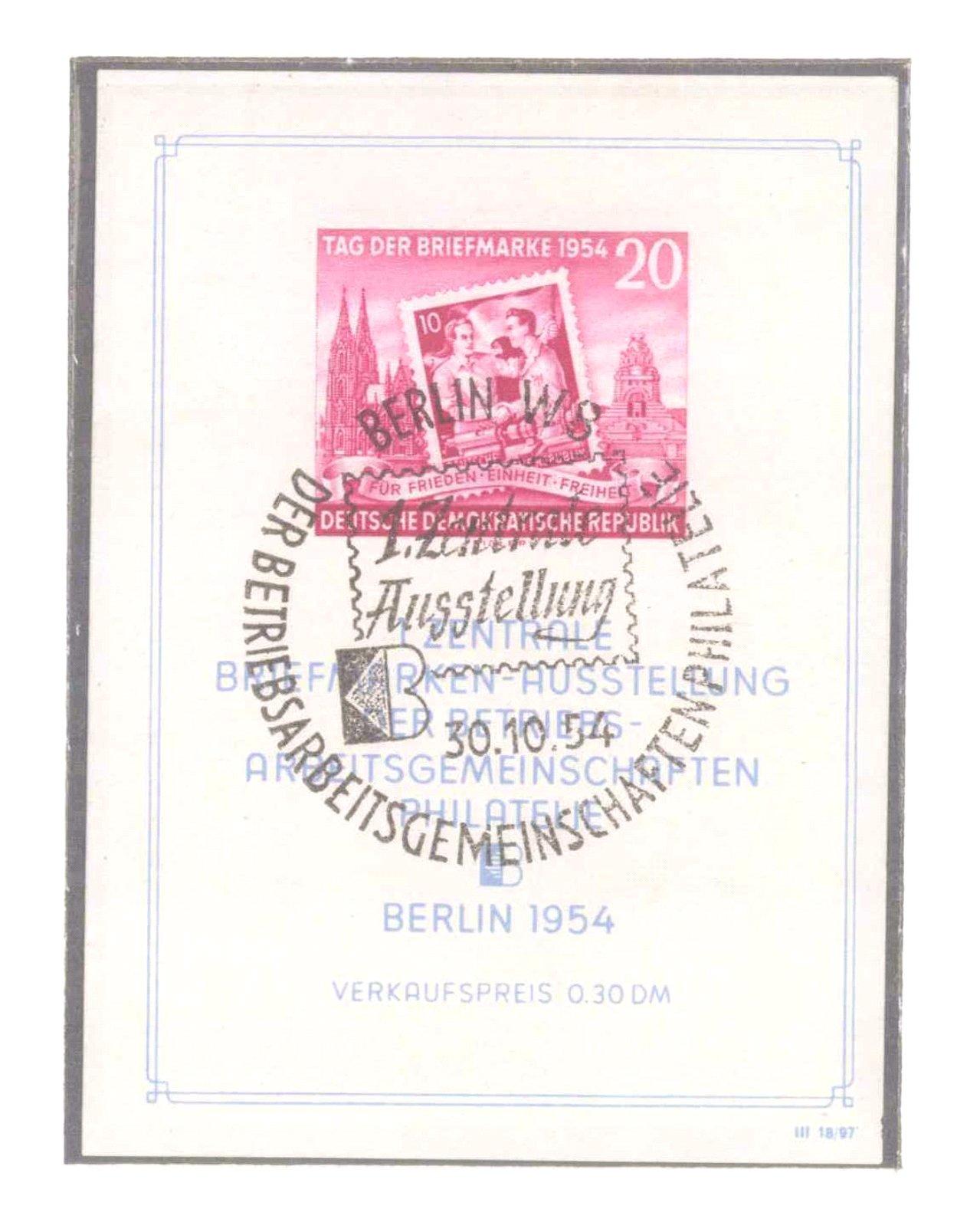 Sammlung DDR 1949-1990, postfrisch und gestempelt-9