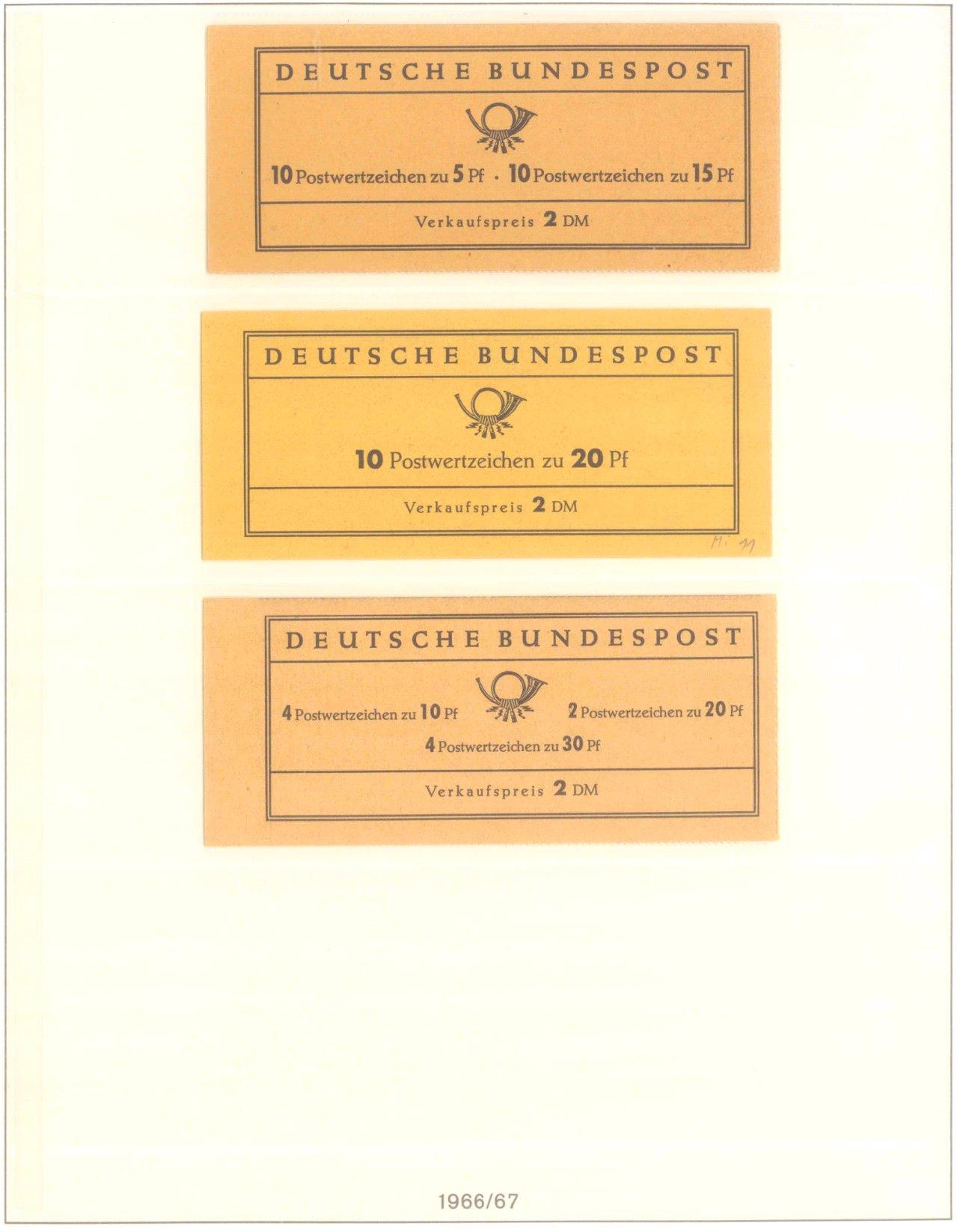 Markenheftchensammlung, Bund, Berlin, DDR, Alle Welt-7