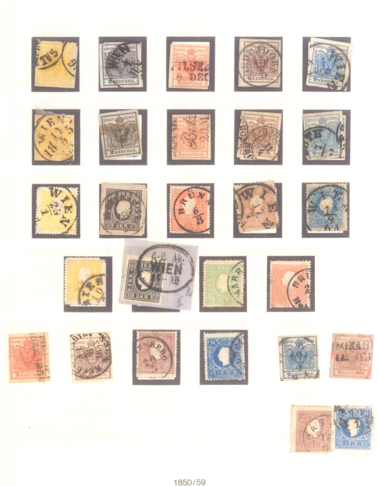 Sammlung Österreich 1850-1919