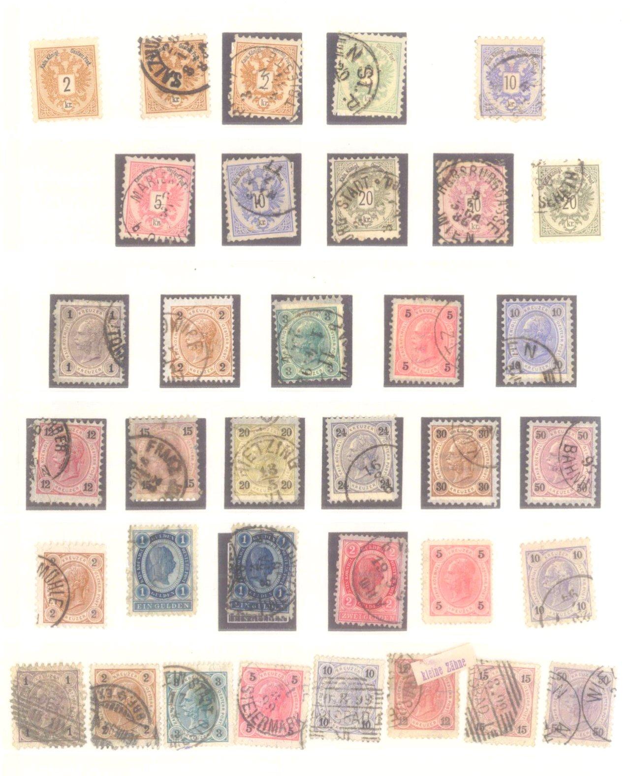 Sammlung Österreich 1850-1919-3