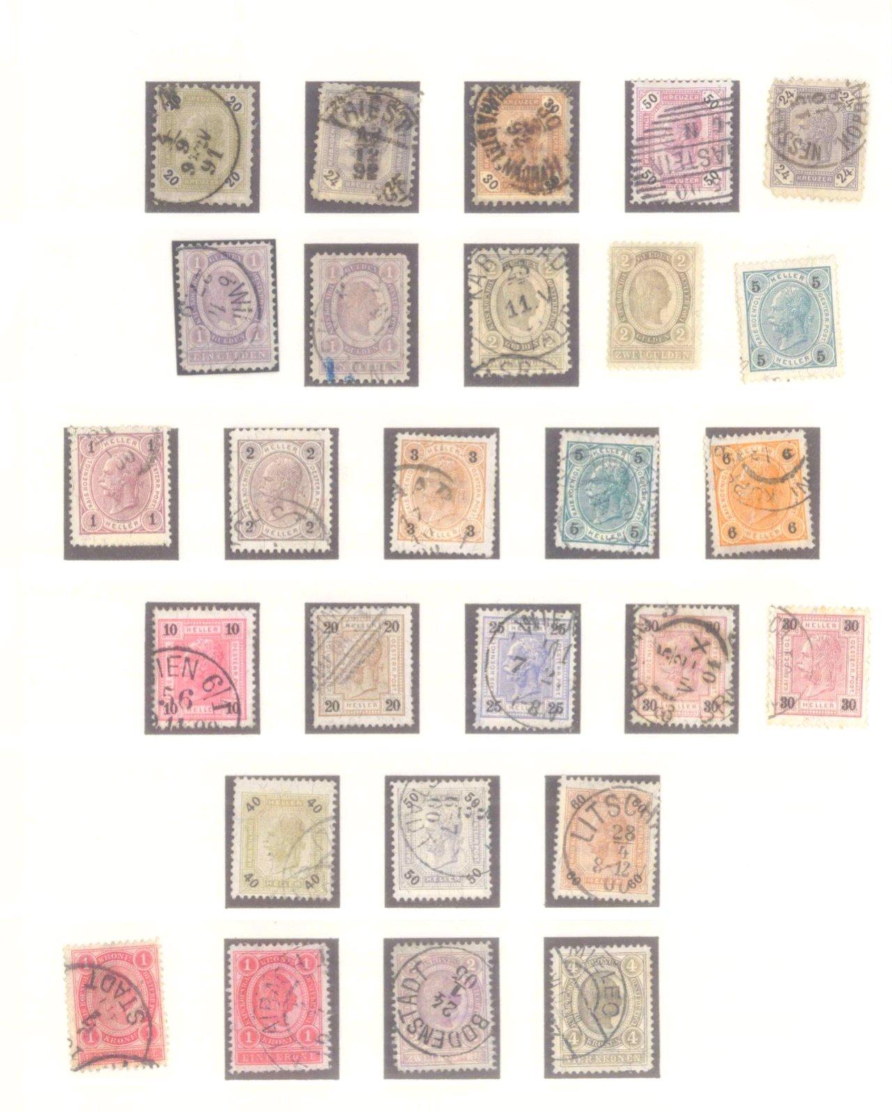 Sammlung Österreich 1850-1919-4