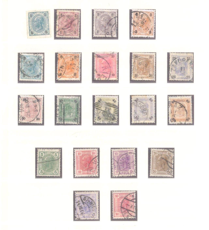Sammlung Österreich 1850-1919-6