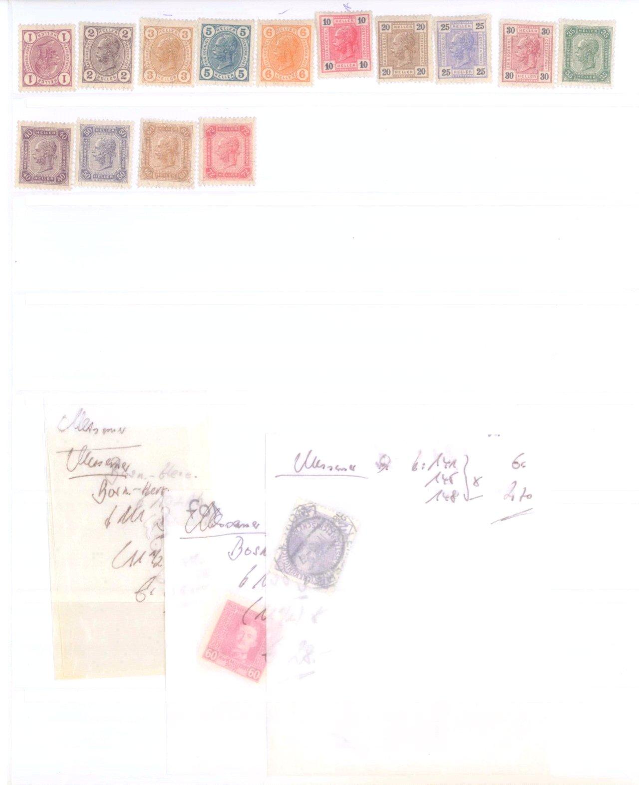 Sammlung Österreich 1850-1919-7