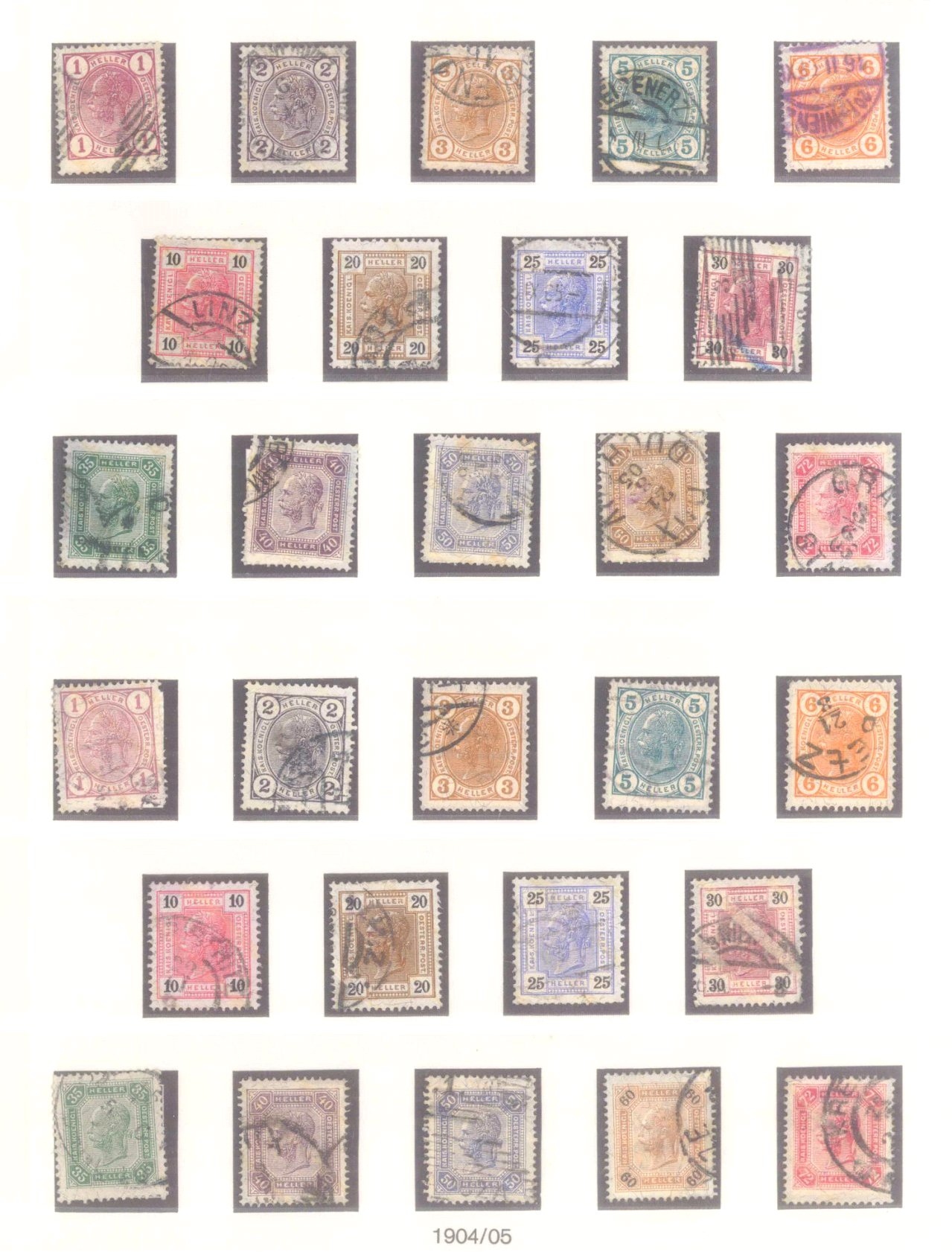 Sammlung Österreich 1850-1919-8