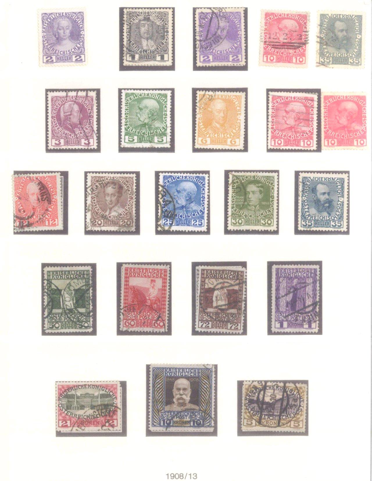 Sammlung Österreich 1850-1919-9