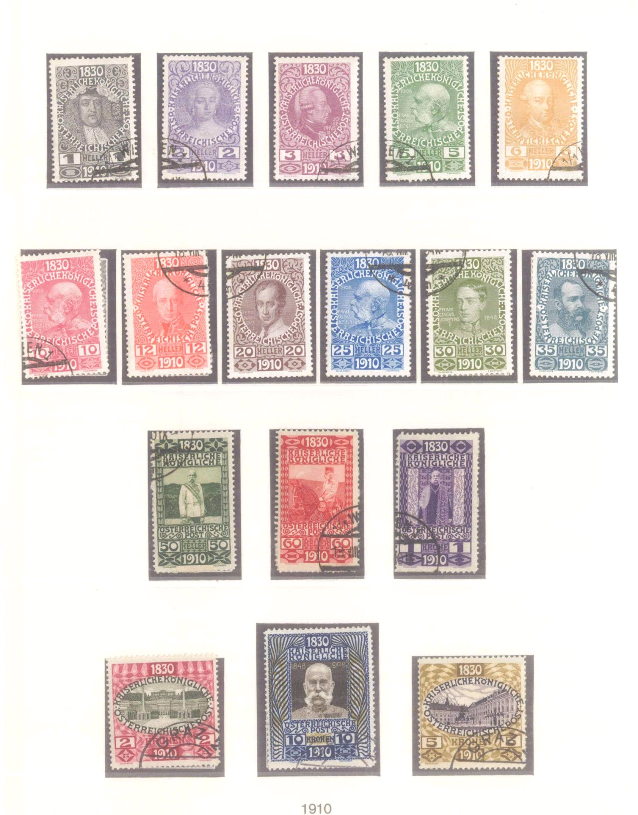 Sammlung Österreich 1850-1919-10