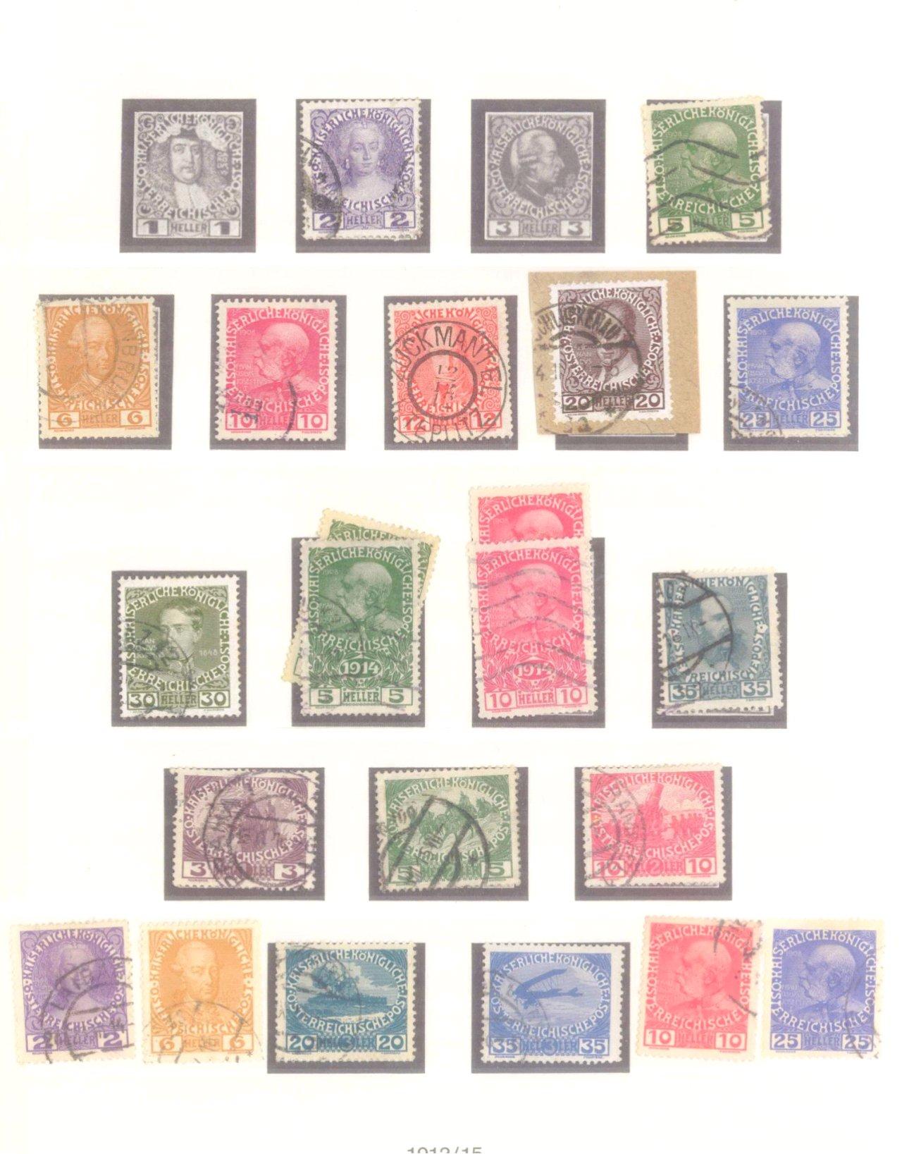 Sammlung Österreich 1850-1919-11