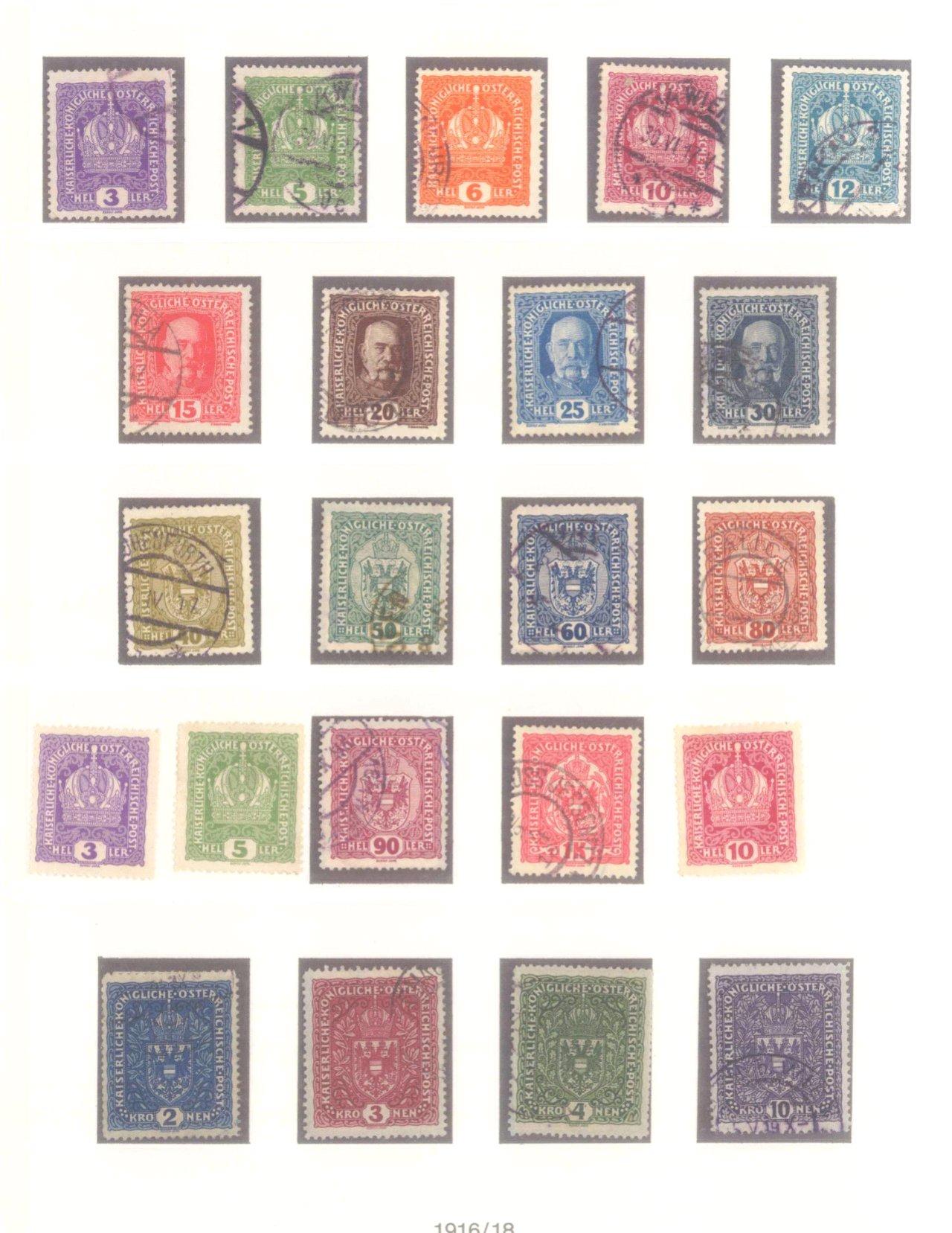 Sammlung Österreich 1850-1919-12