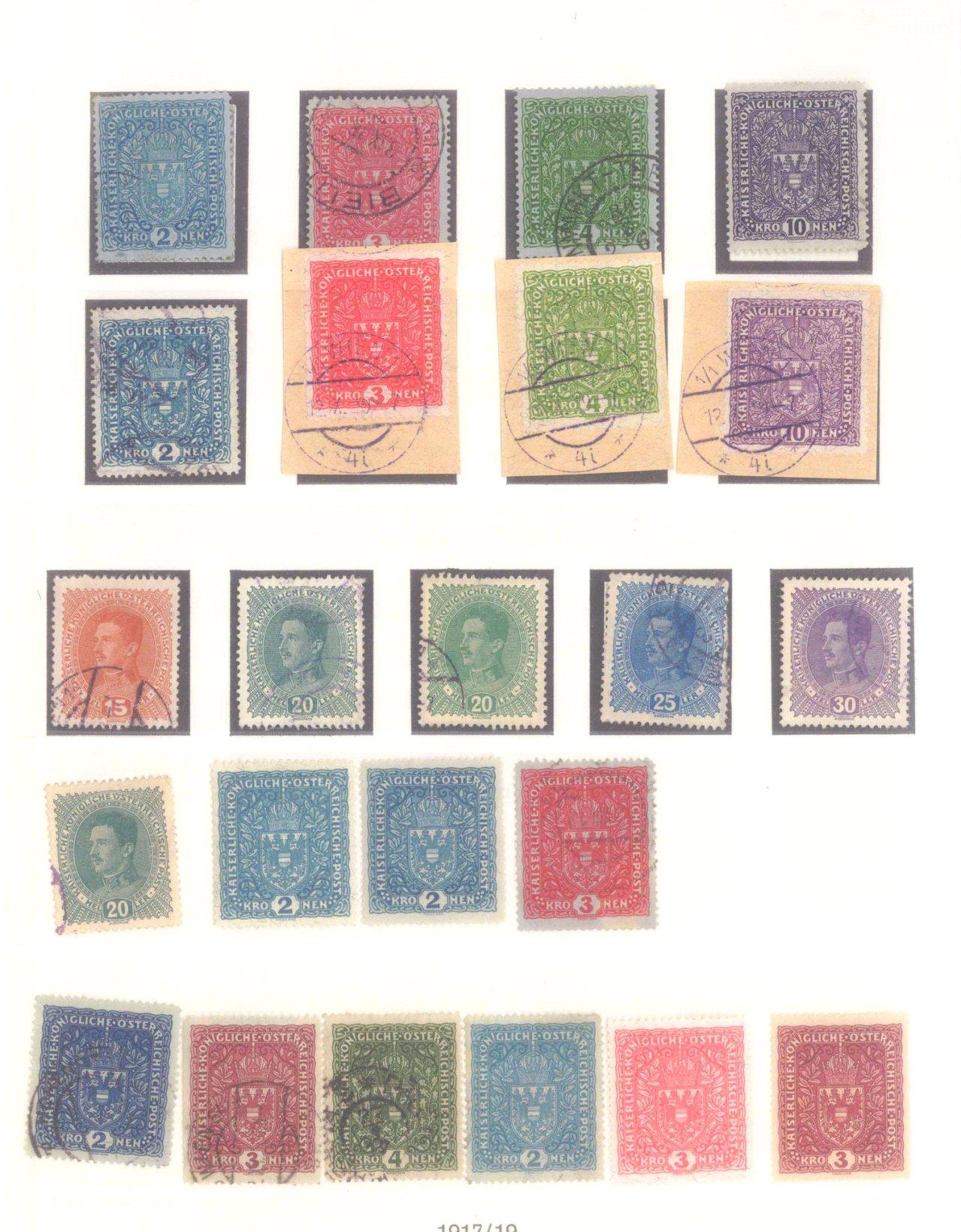 Sammlung Österreich 1850-1919-13
