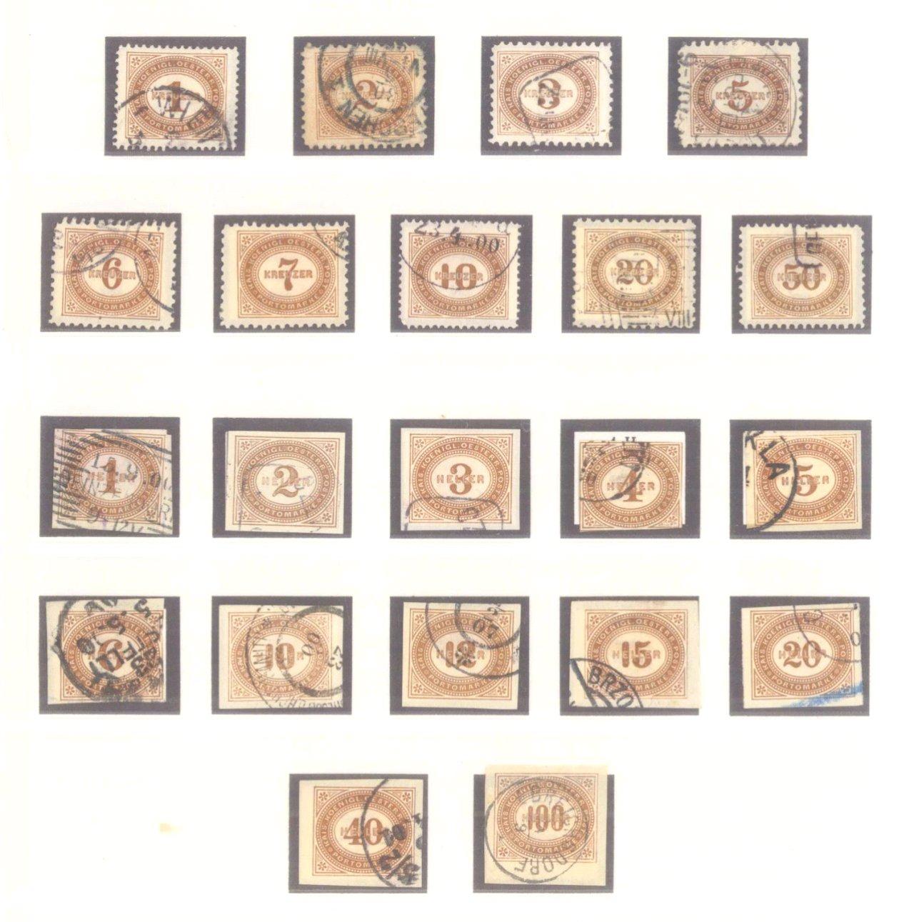 Sammlung Österreich 1850-1919-15
