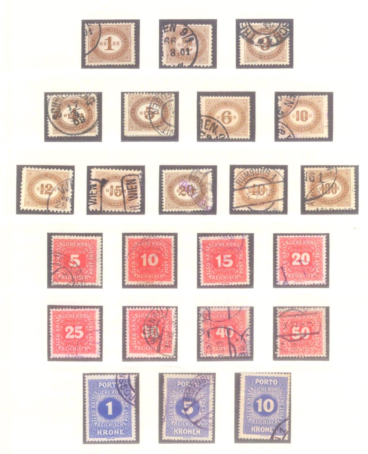 Sammlung Österreich 1850-1919-16