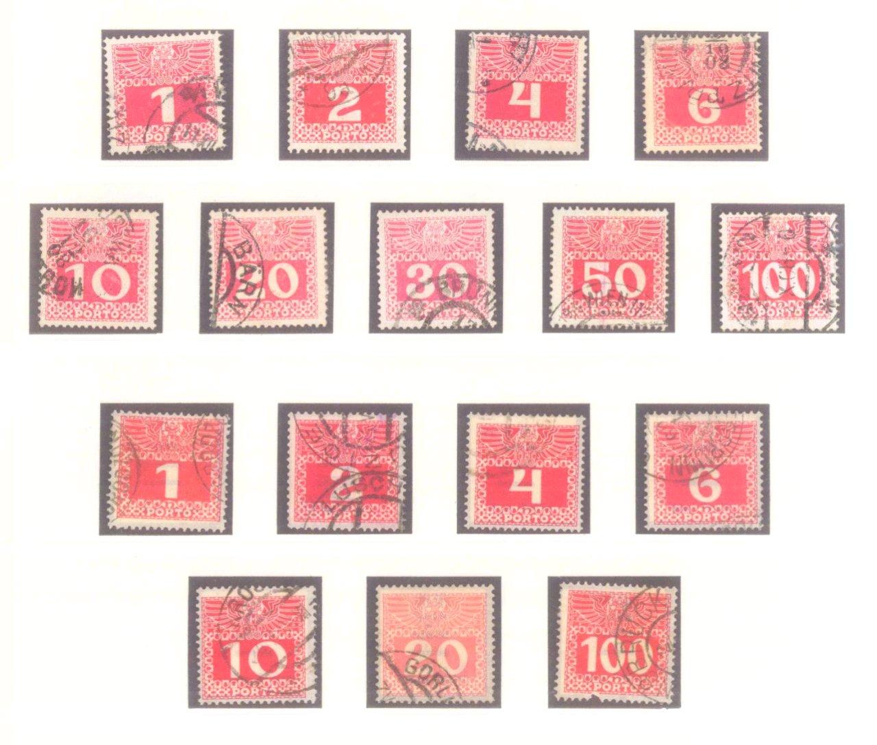 Sammlung Österreich 1850-1919-17