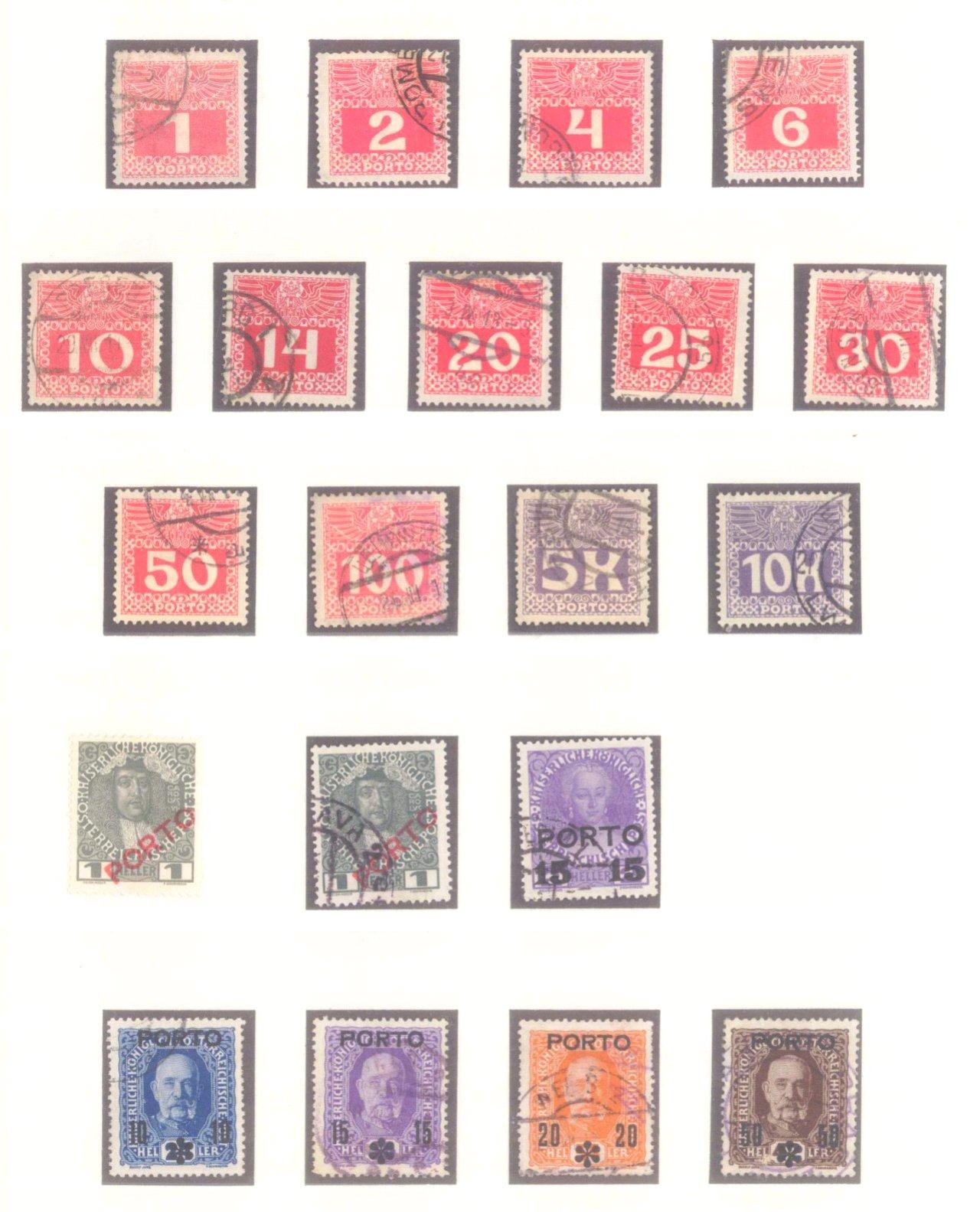 Sammlung Österreich 1850-1919-18
