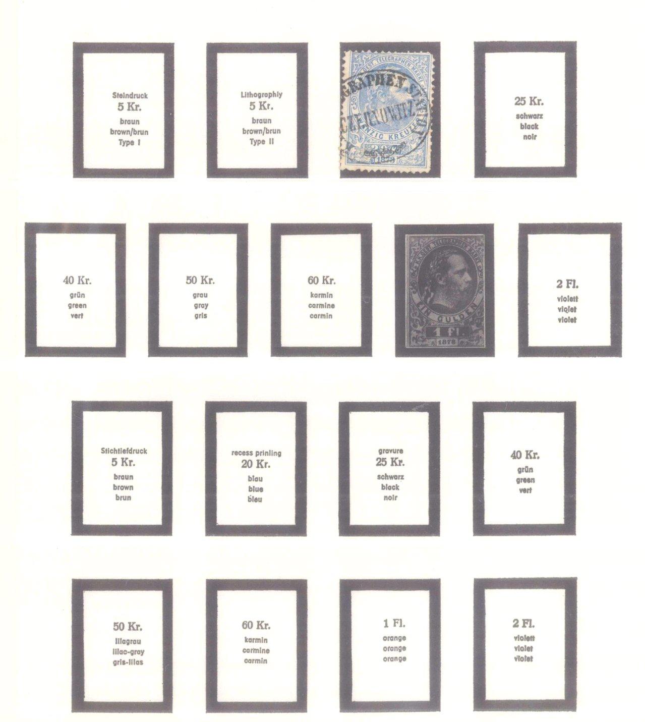 Sammlung Österreich 1850-1919-19