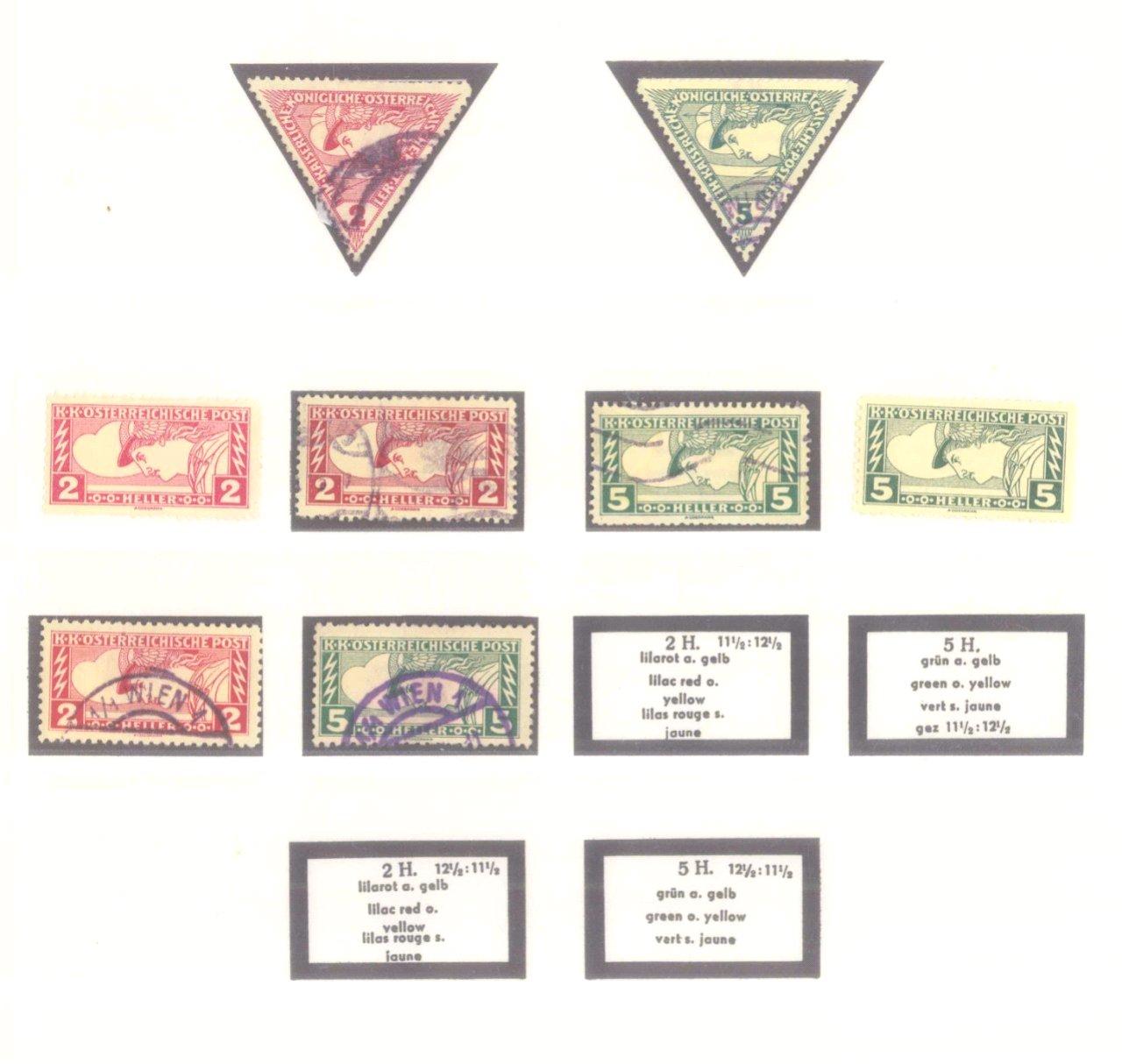 Sammlung Österreich 1850-1919-20