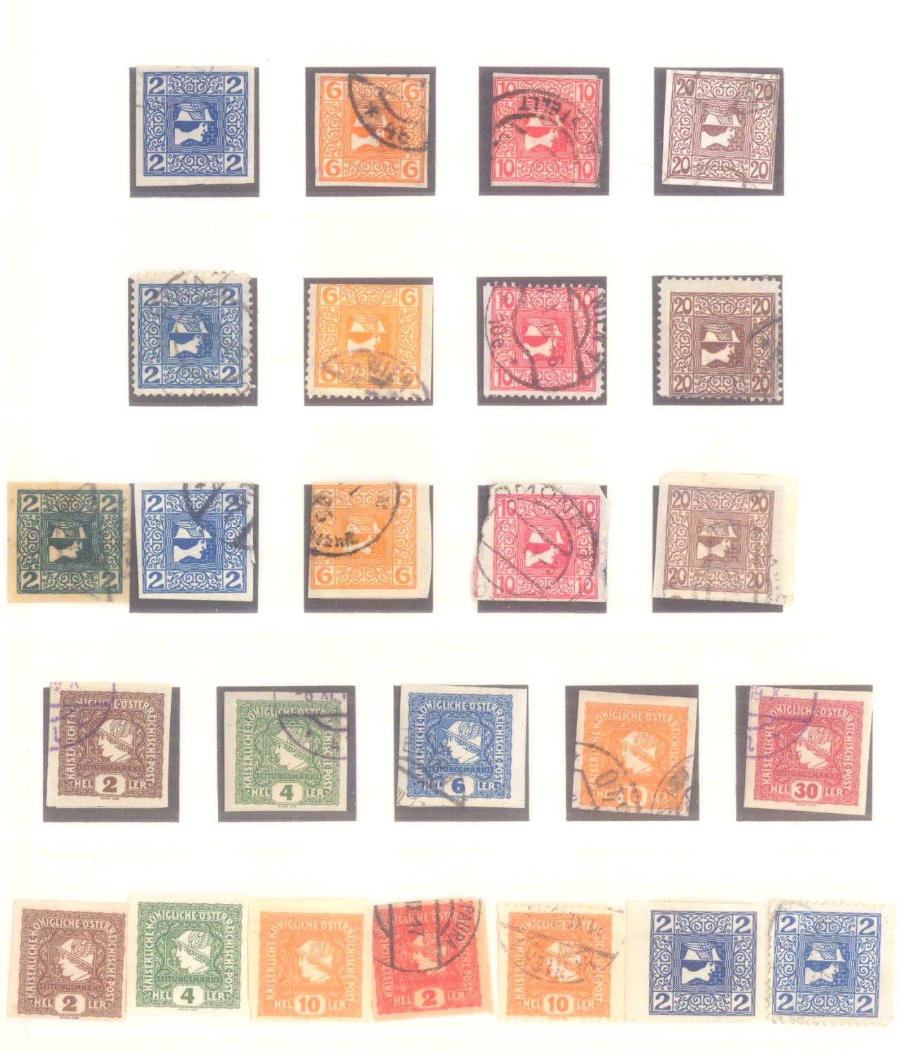 Sammlung Österreich 1850-1919-21