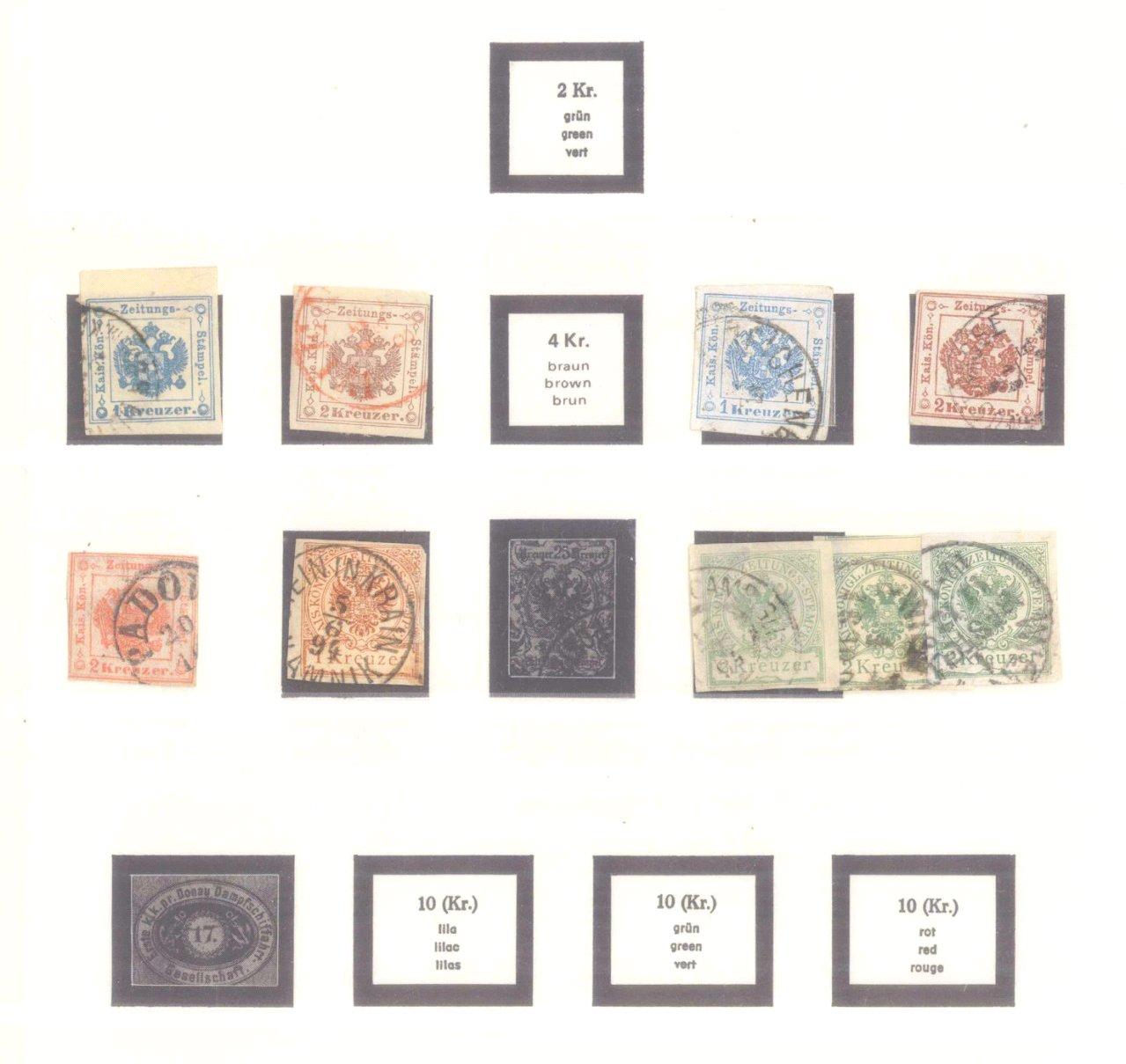 Sammlung Österreich 1850-1919-22
