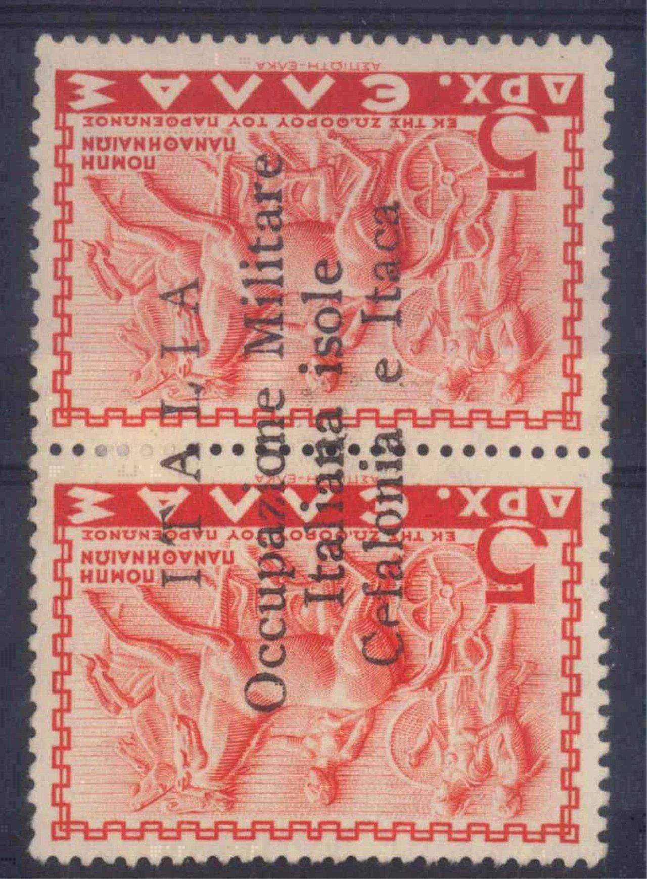 IONISCHE INSELN – Kefalonia und Ithaka, AUFDRUCK von oben