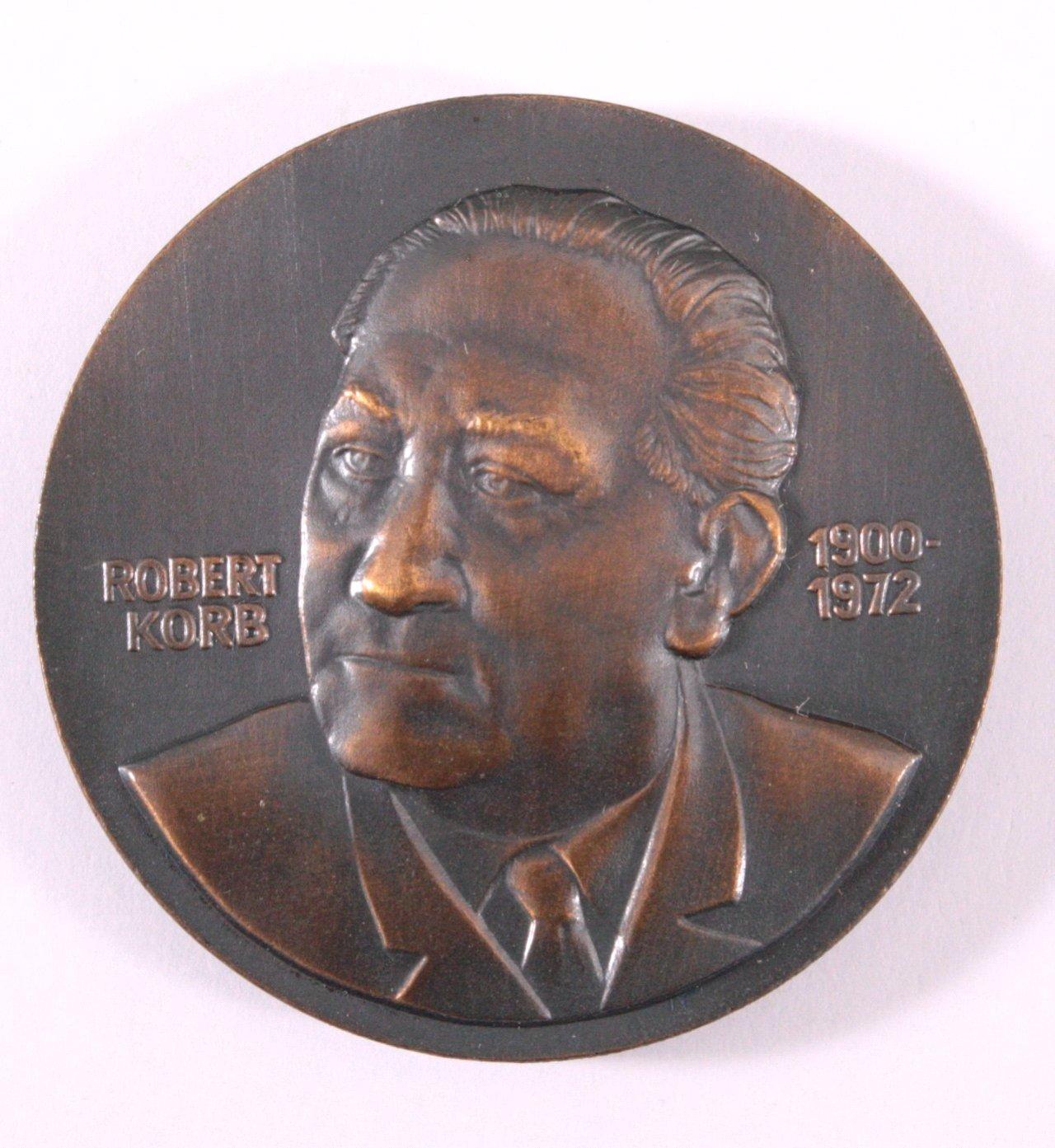 DDR Medaille, Robert Korb SED 1986